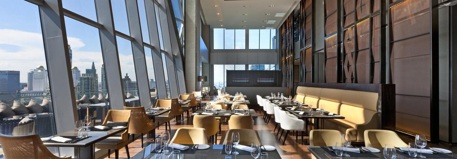 曼谷大仓新颐酒店(The Okura Prestige Bangkok) 高层餐厅图片  www.lhw.cn