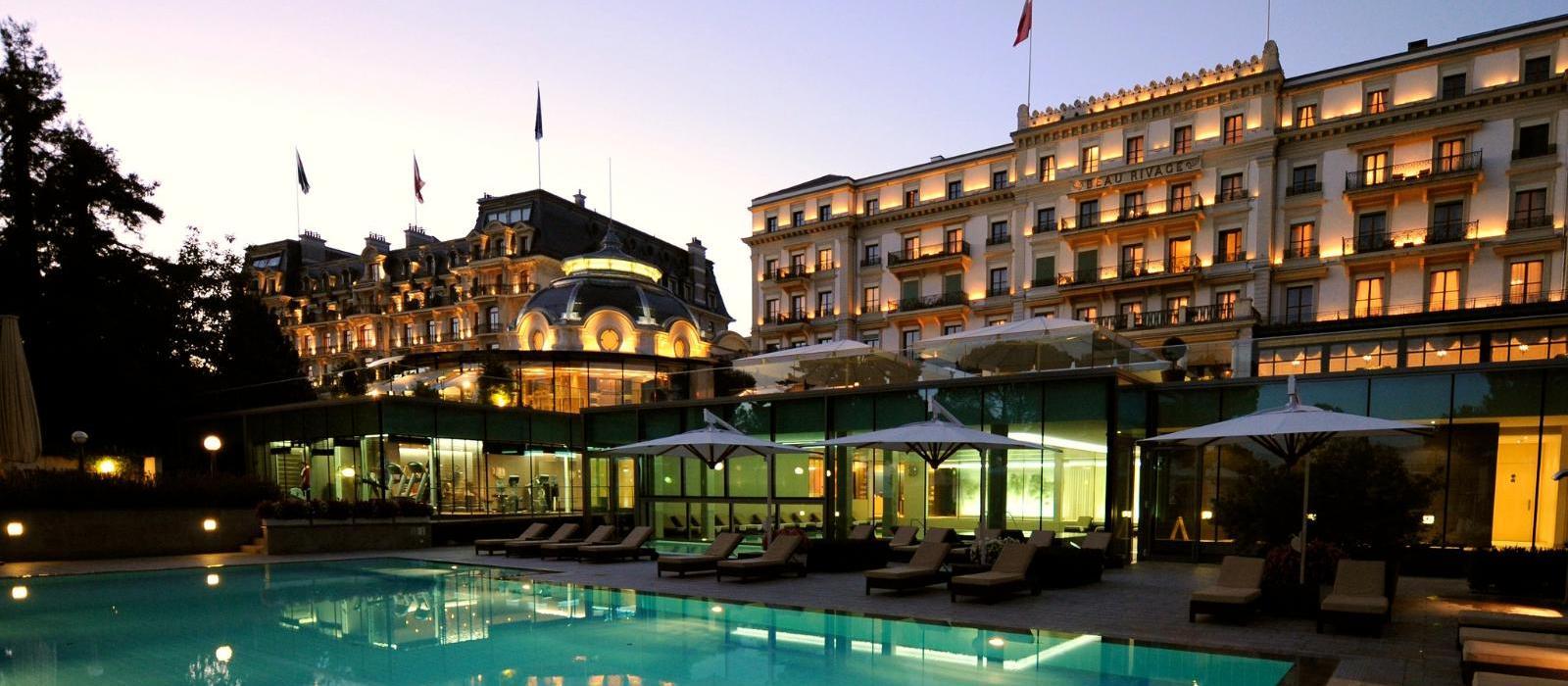 洛桑美岸皇宫大酒店(Beau-Rivage Palace Lausanne) 酒店外观图片  www.lhw.cn