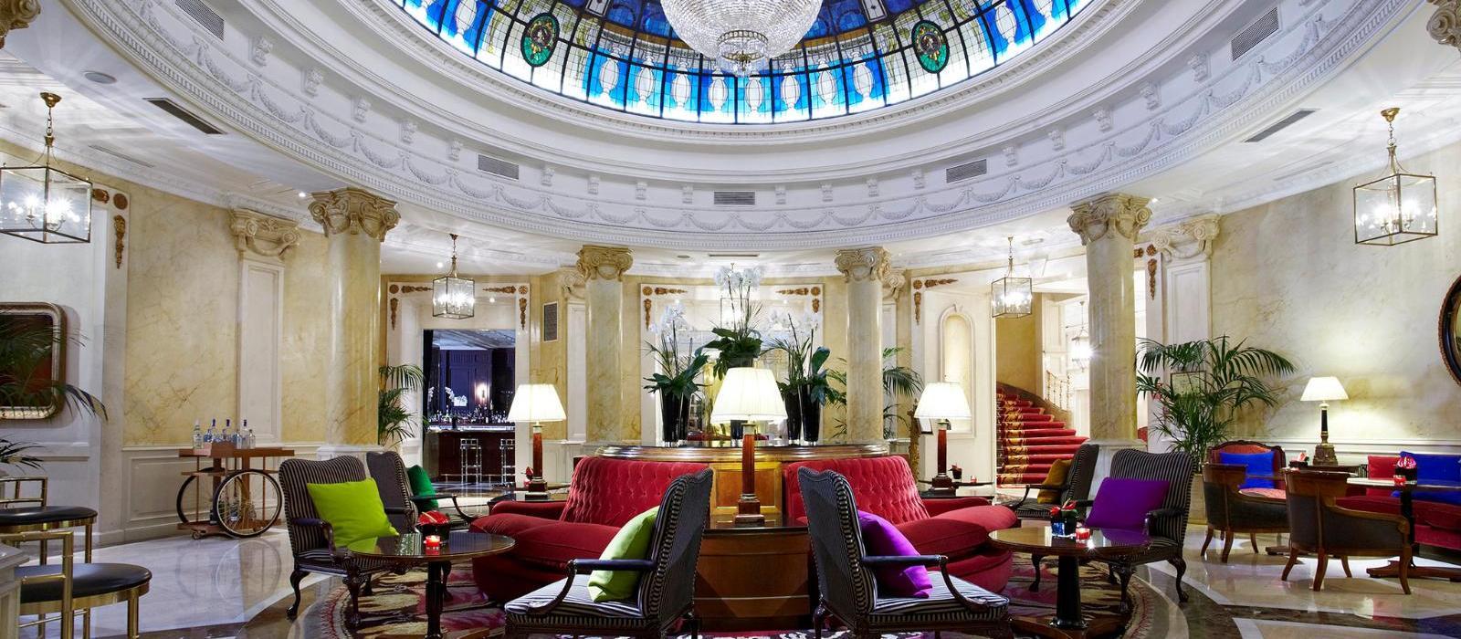 美利亚菲尼克斯大酒店(Hotel Fenix, a Gran Melia Hotel) 大堂吧图片  www.lhw.cn