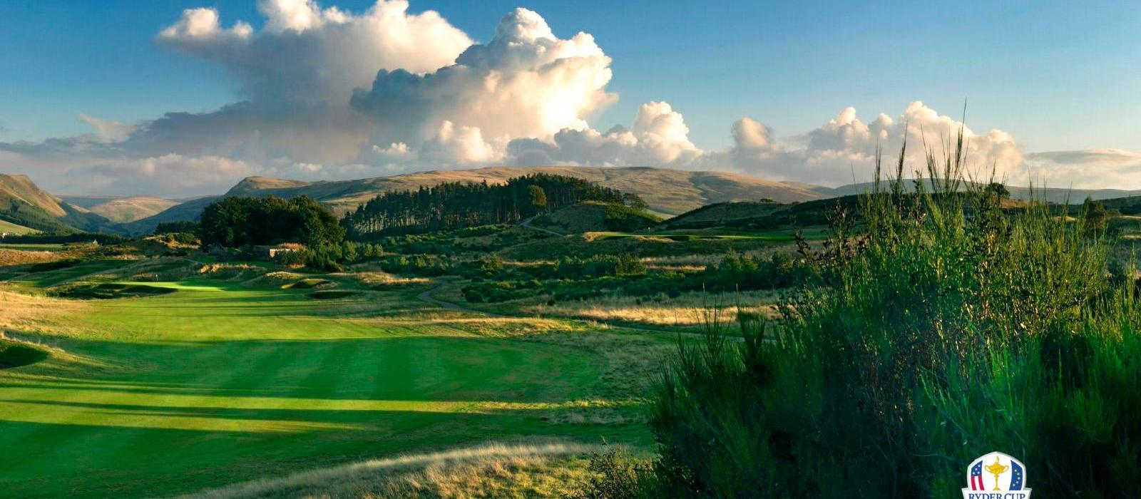 格伦伊格尔斯度假酒店(The Gleneagles Hotel) PGA百年球场,2014年莱德杯场地图片  www.lhw.cn