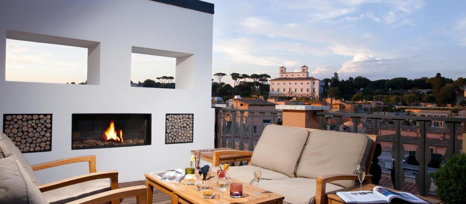 印象罗马精品酒店(Portrait Roma) 图片  www.lhw.cn