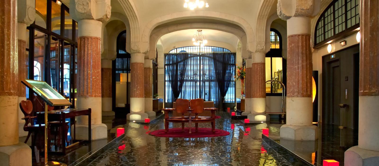 富诗之家酒店(Hotel Casa Fuster) 大堂图片  www.lhw.cn