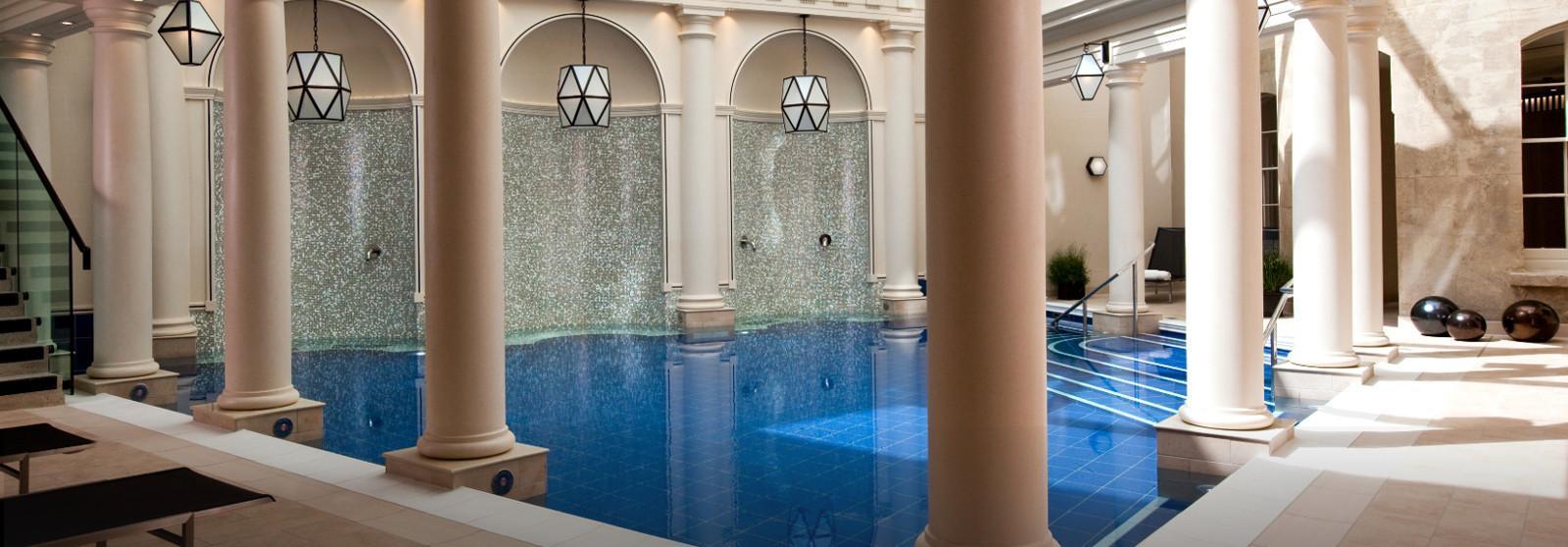 英国唯一一家天然温泉水疗 酒店  www.lhw.cn